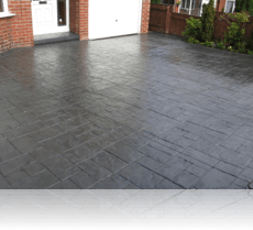 Ashlar Slate Drive and Path Charcoal
