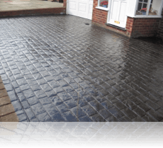 London Cobble Drive and Path Charcoal