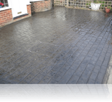 London Cobble Drive Charcoal