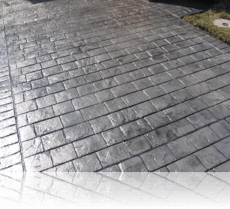 London Cobble Drive Platinum Grey