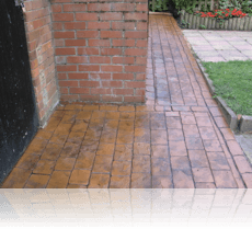 London Cobble Path Rustic Sandstone
