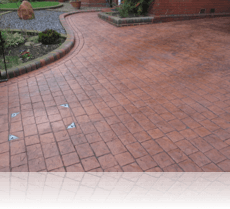 London Cobble Terracotta Charcoal RA