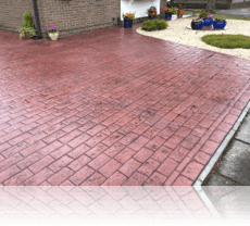 New London Cobble Drive in Plum