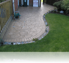 Random Stone Patio Mid Buff