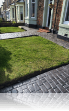 Country Cobble Path in Slate Grey