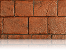 London Cobble Brick Red