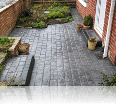 London Cobble Path in Platinum Grey