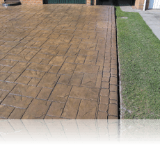 Ashlar Slate Drive Country Sandstone Double Cobble Edging
