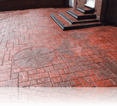 Ashlar Slate Dark Red with Compass
