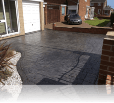 Ashlar Slate Drive in Platinum