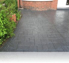 Ashlar Slate Path and Drive Charcoal