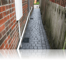 Country Cobble Path Basalt Grey