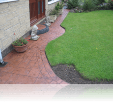 Ashlar Slate Path Terracotta
