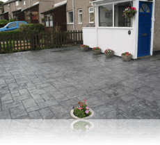 Ashlar Slate Platinum Grey Path and Drive