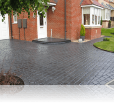 Country Cobble Drive and Path Basalt Grey