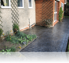 Country Cobble Path in Basalt Grey
