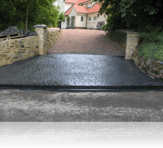 Country Cobble Drive Entrance Basalt Grey