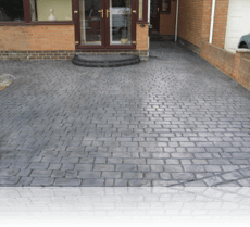 Country Cobble Drive Platinum Grey