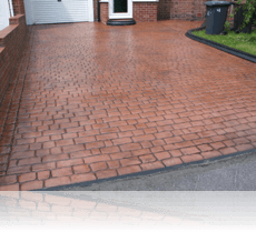 Country Cobble Drive Terracotta